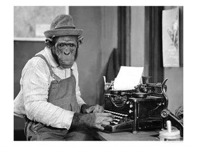 chimpanzee-at-typewriter
