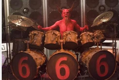 devil drummer