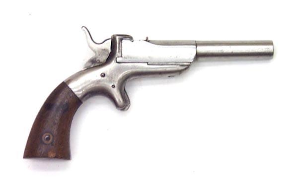 Allen and Wheelock Center Hammer Single Shot Pistol