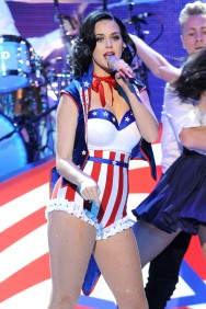 Katy Perry during the children's concert at the Washington Convention Center in celebration of military families