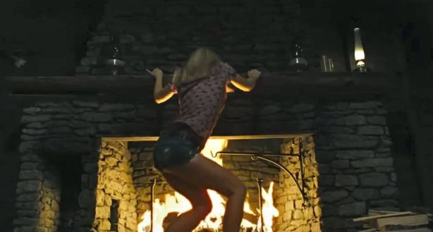 anna-hutchison-cabin-in-the-woods-fire-dance