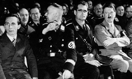 Hitler Goebbels Himmler and Hoess