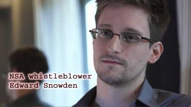NSA whistleblower Edward Snowden
