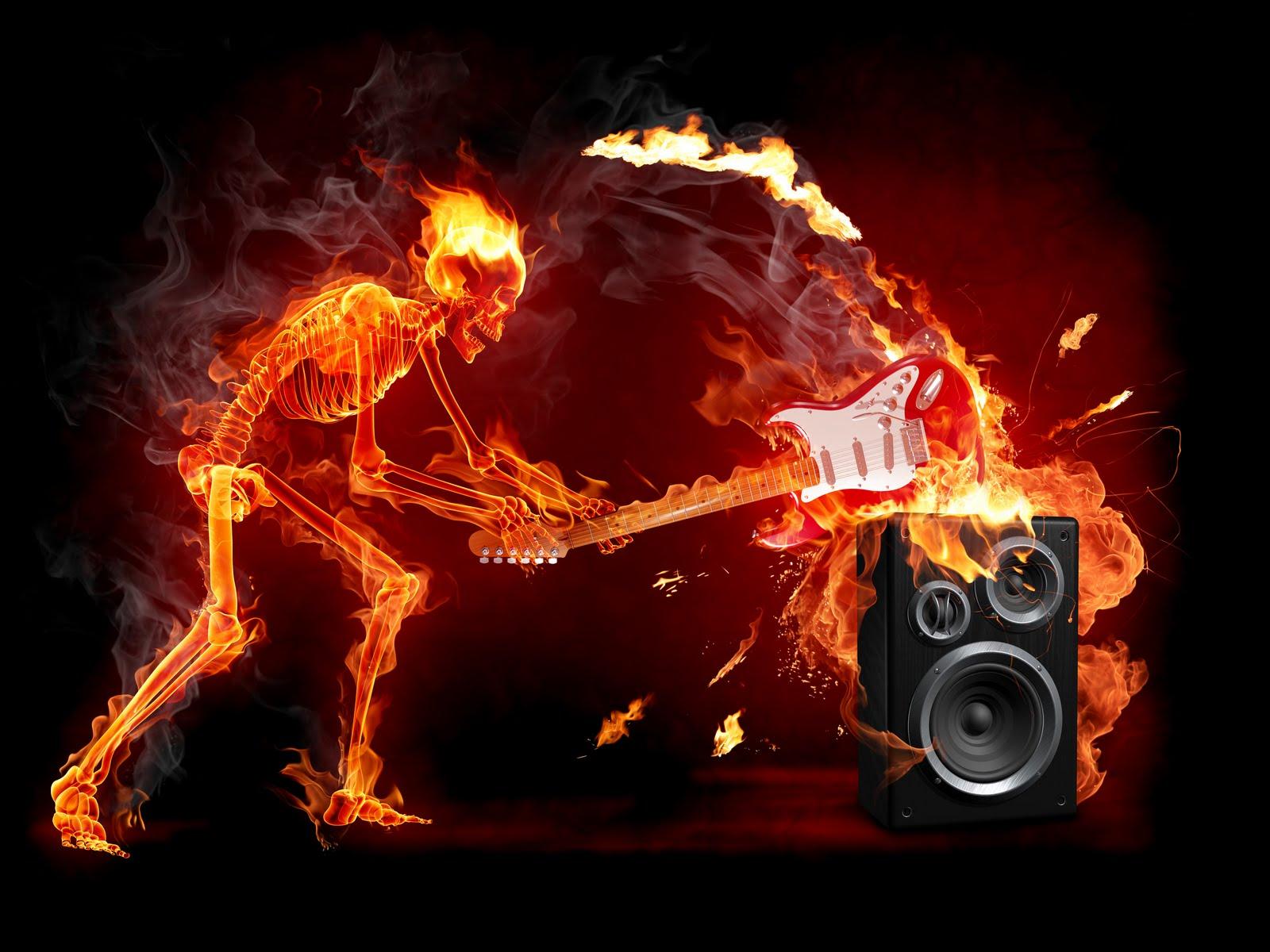 Гитара в огне бесплатно