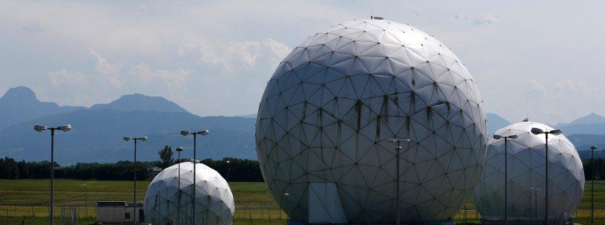 Former large monitoring base of US intelligence organization NSA in Bad Aibling