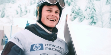 >Olympic gold medal snowboarder Ross Rebagliati in 1998