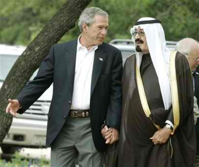PRINCE BANDAR AND GEORGE BUSH 2