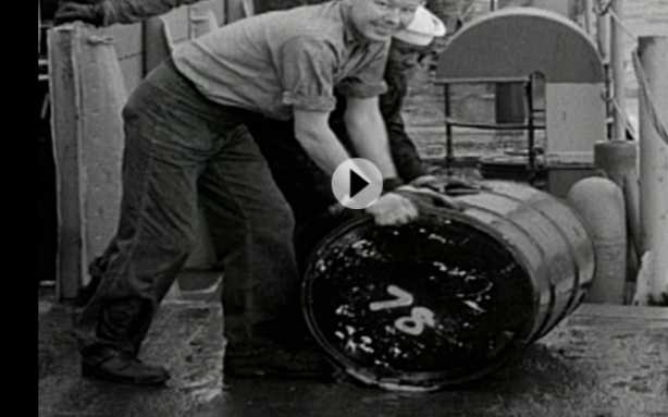 NAVY-DUMPS-RADIOACTIVE-BARRELS