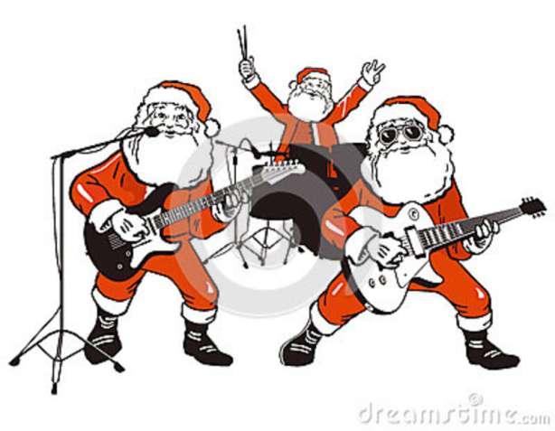 santa-claus-rock-band-26856558
