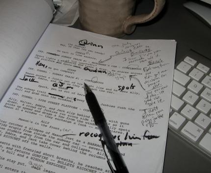 script-page