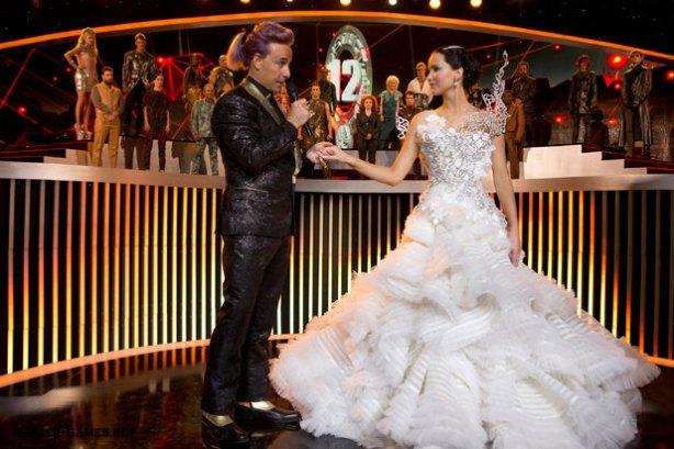 The Hunger Games - Catching Fire - Jennifer Lawrence As Katniss Everdeen 2