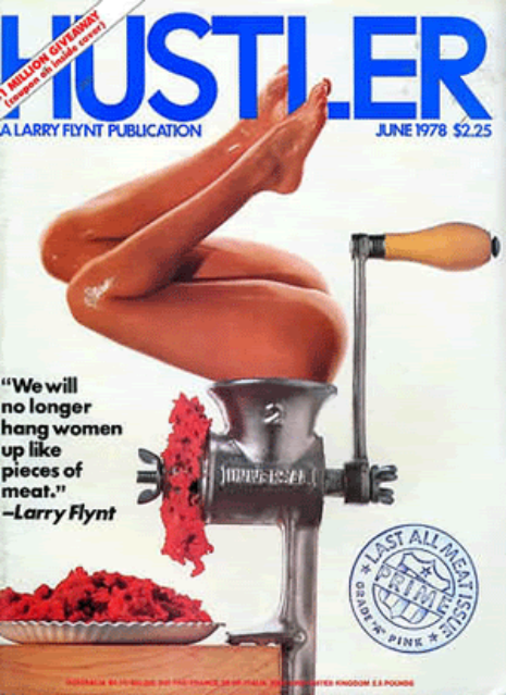 Back issues of hustler mgazine