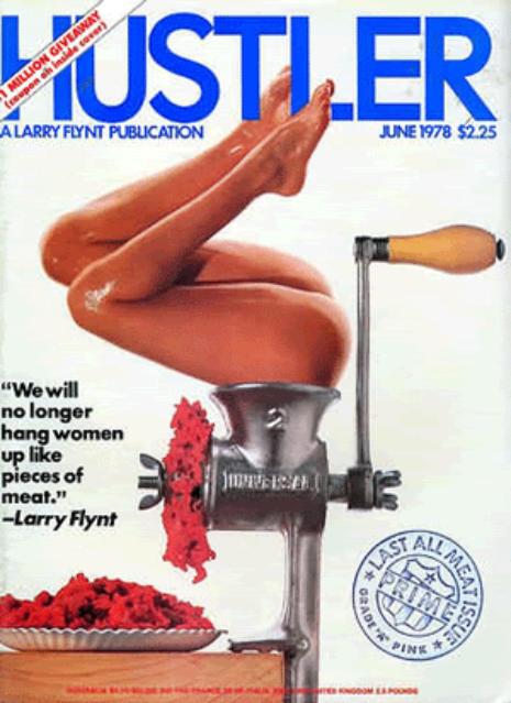 Back issues of hustler mgazine