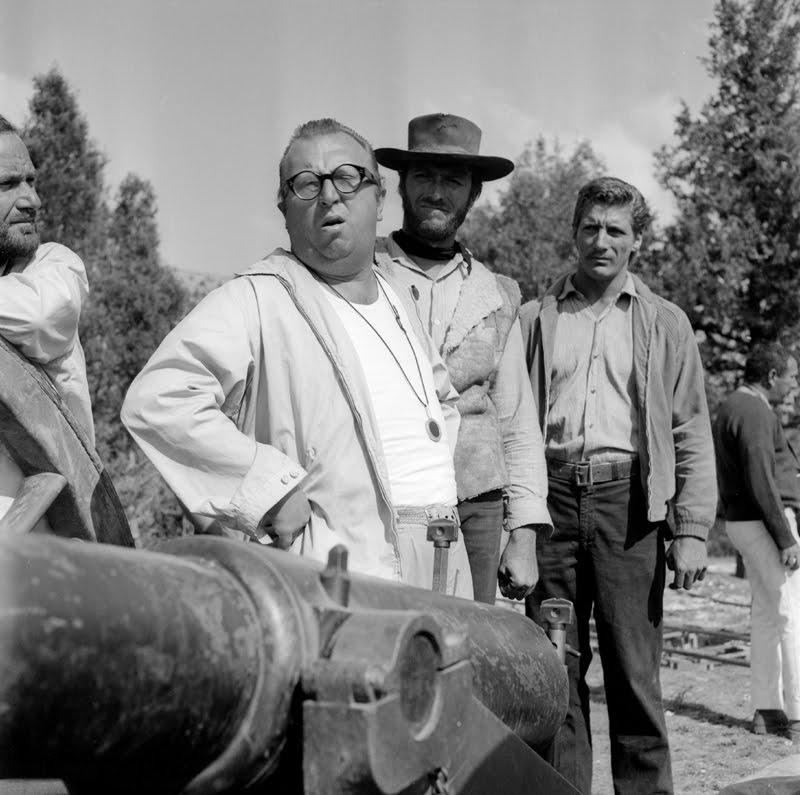 Sergio-Leone-Clint-Eastwood-y-Romano-Puppo-en-Sad-Hill-Contreras-Burgos-1966