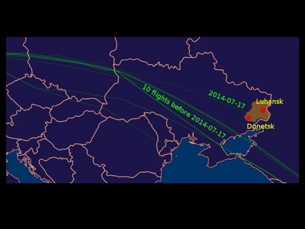 MH 17 flight paths_0