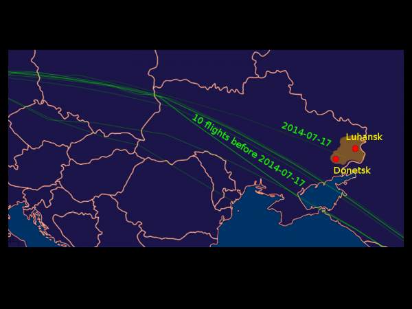 MH 17 flight paths_0