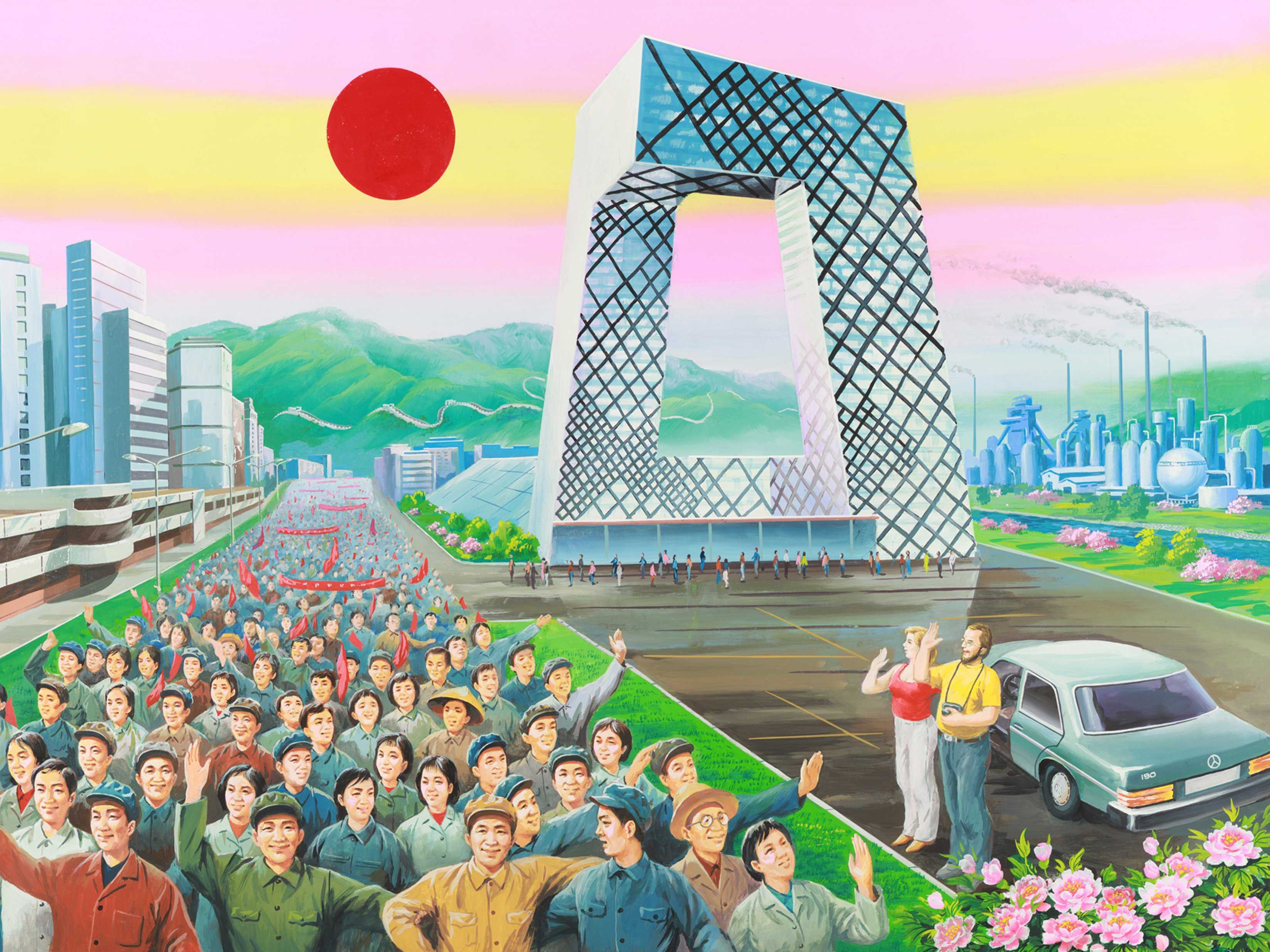 north-korean-propaganda-artists-painted-these-incredible-pictures-of-china-as-a-socialist-utopia
