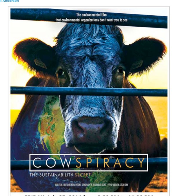 Cowspiracy Documentary Premiers! - Green Vegans