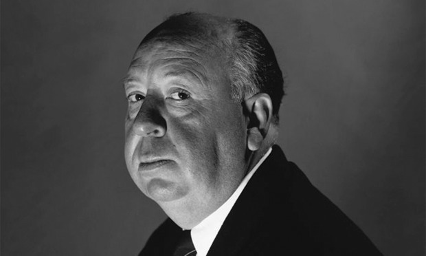 English director, Alfred Hitchcock
