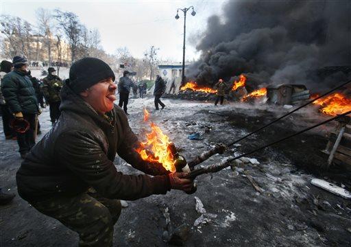 YE Ukraine Protest