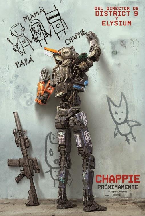 Chappie Gun Poster