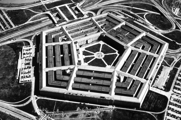 1947:  The Pentagon in Arlington, Virginia, the headquarters of the Department of Defence.  (Photo by MPI/Getty Images)
