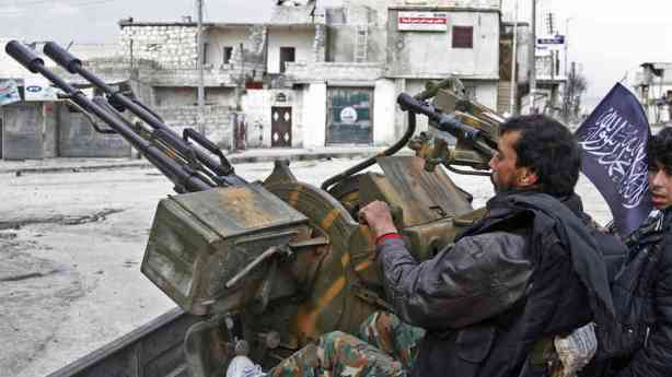 syrian-anti-aircraft-gun