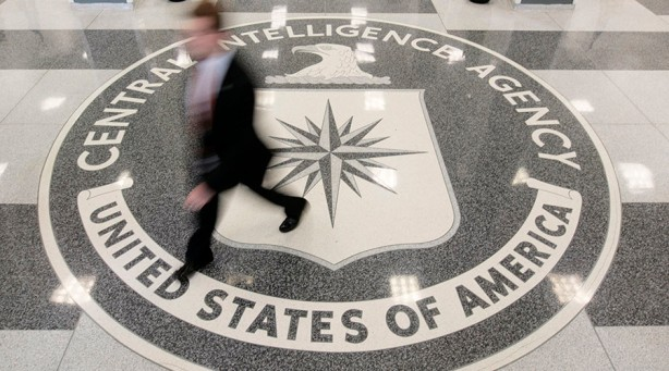The lobby of the CIA Headquarters Building in McLean, Virginia, August 14, 2008.      REUTERS/Larry Downing      (UNITED STATES) - RTR21465
