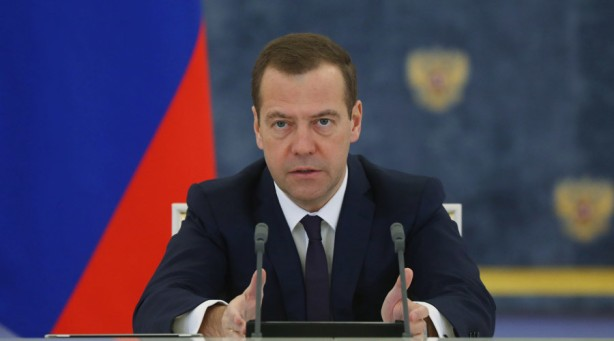 Russian Prime Minister Dmitry Medvedev chairs meeting of Russian government