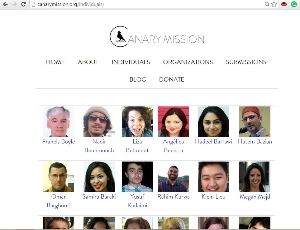 canary-mission-screenshot