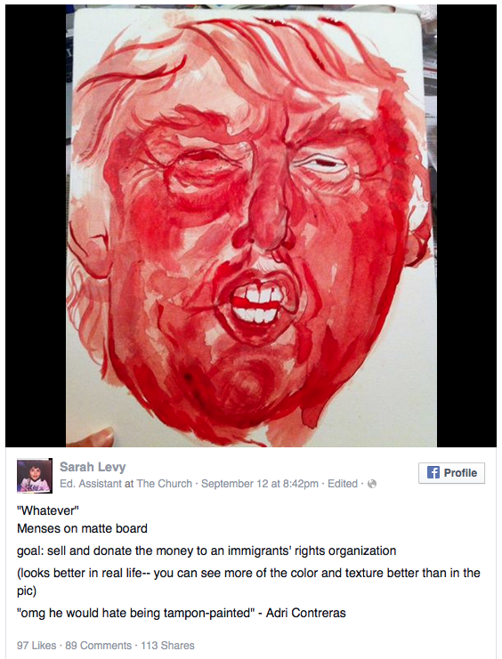 woman-painted-donald-trump-with-menstrual-blood-and-its-not-half-bad-image-2
