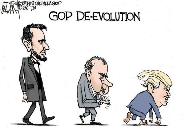 Cartoon GOP-devolution