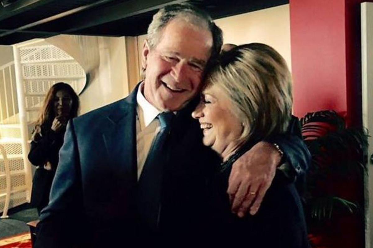 George W. Bush & Hillary Rodham Clinton