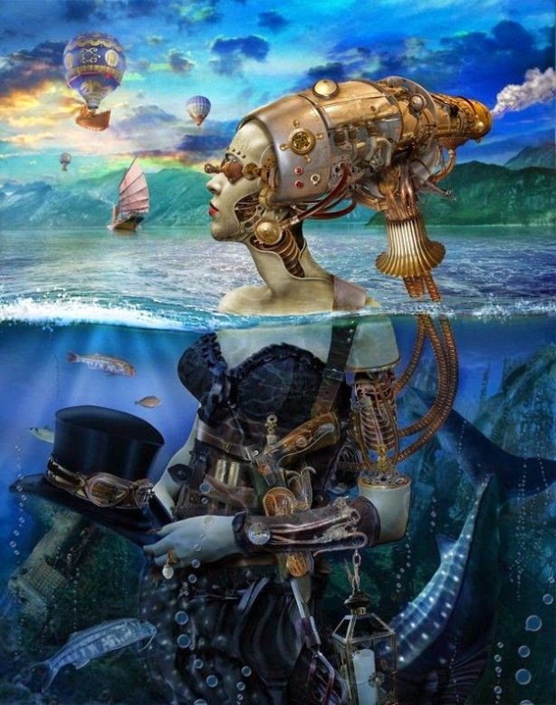 scifi-steampunk