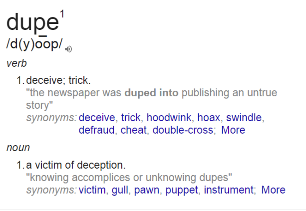 dupe-defined