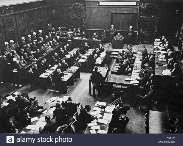 view-of-the-courtroom-during-the-nuremberg-trials-in-the-context-of-D9TJP8