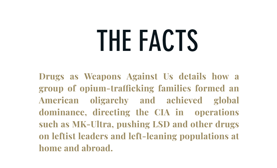 drugs-as-weapon-facts