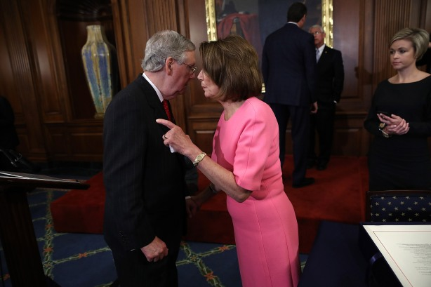 House And Senate Leaders Hold Enrollment Ceremony For 21st Century Cures Act