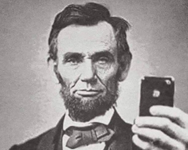 lincoln-selfie