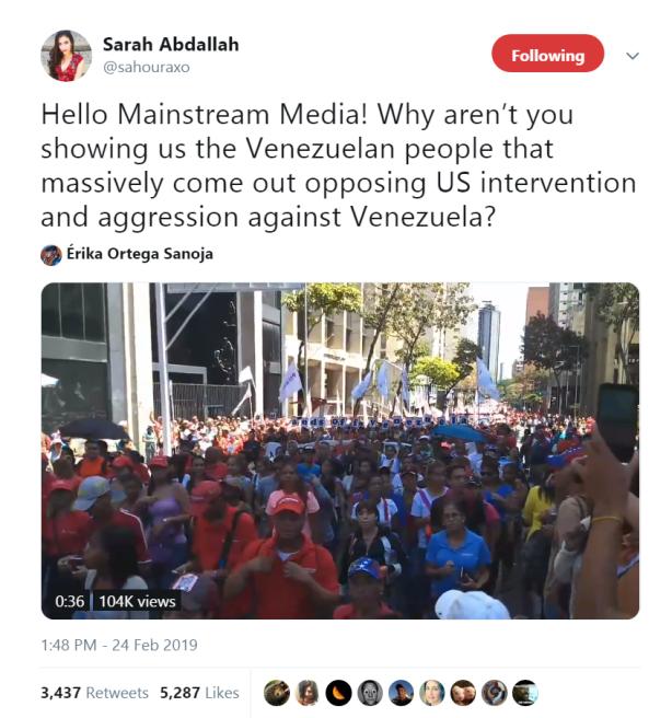 sarah-abdallah-venezuela-meme