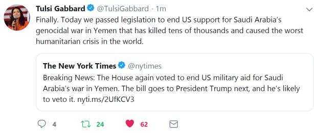 gabbard on yemen