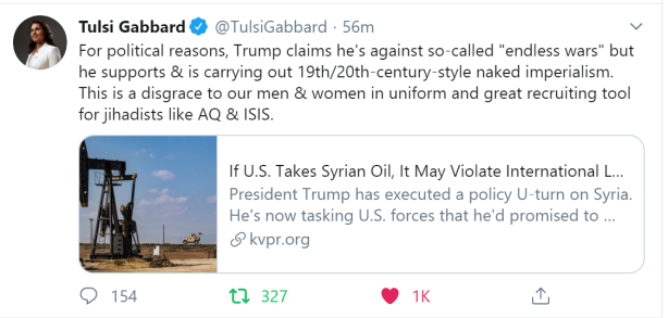 Tulsi-Trump-stealing-oil