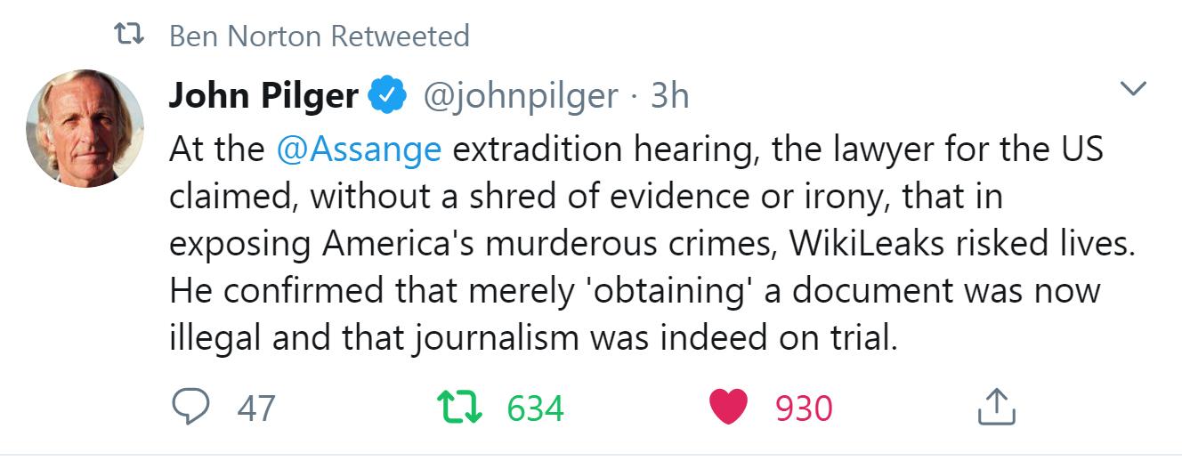 pilter-assange trial